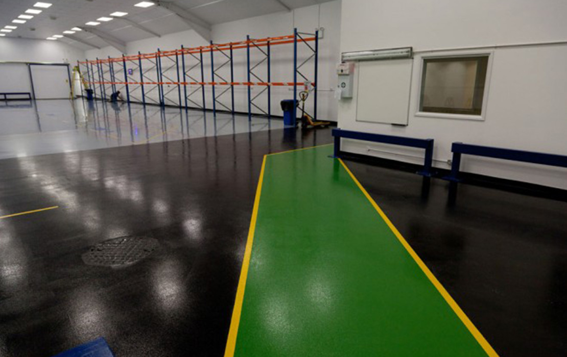 Industrial floor coatings UK