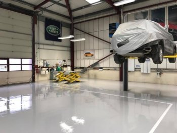 Heavy Duty Resin Floor