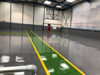 Industrial Flooring Hampshire