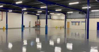Warehouse Epoxy Floor Coating
