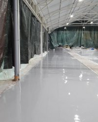 Warehouse Epoxy Floor Corby
