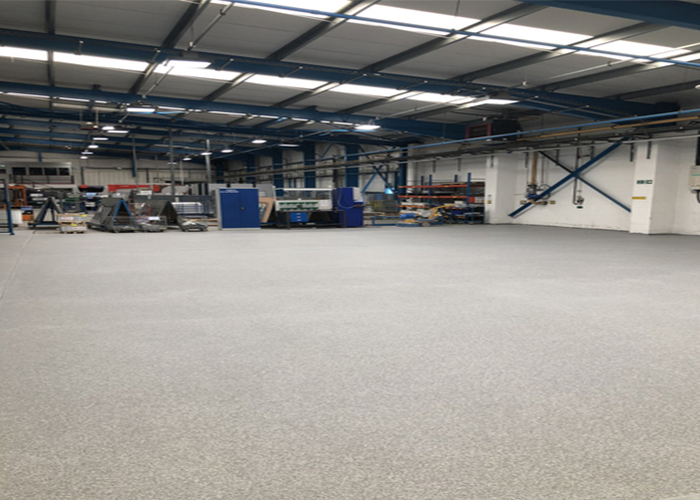 commercial Epoxy Flake Flooring System