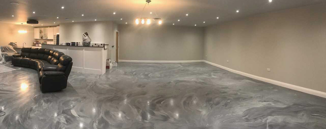 50/50 Epoxy Resin Flooring Poole