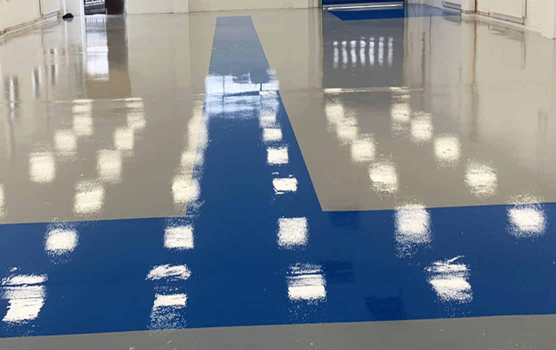 Industrial epoxy flooring London
