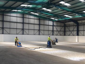 Industrial resin flooring London