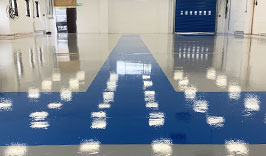 Epoxy resin flooring New Milton