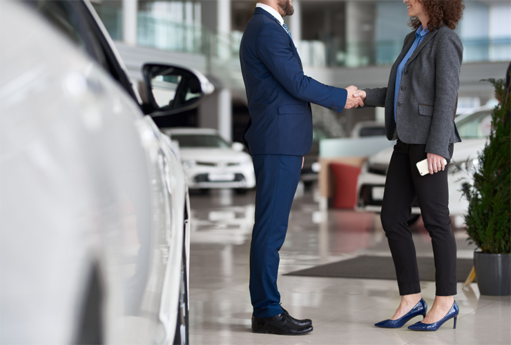 Vehicle Showroom Flooring